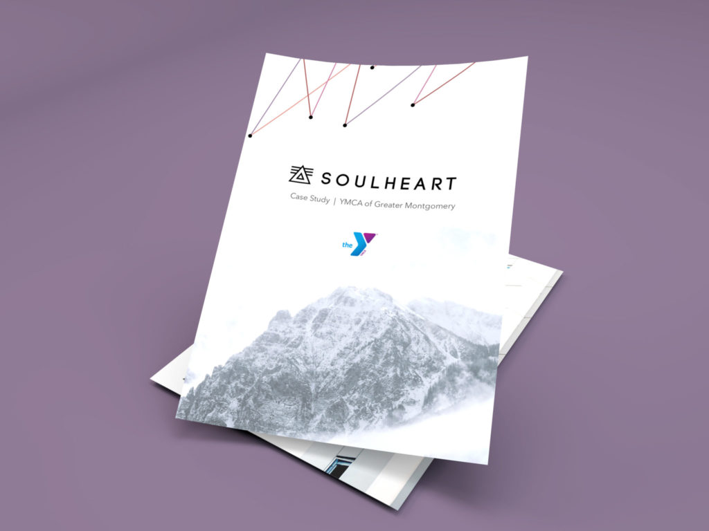 YMCA Montgomery Case Study. YMCA Houston Case Study. Marketing Case Study. Image of a beautifully designed pdf of a case study done on soul heart's marketing effectiveness for the YMCA of Greater Montgomery.